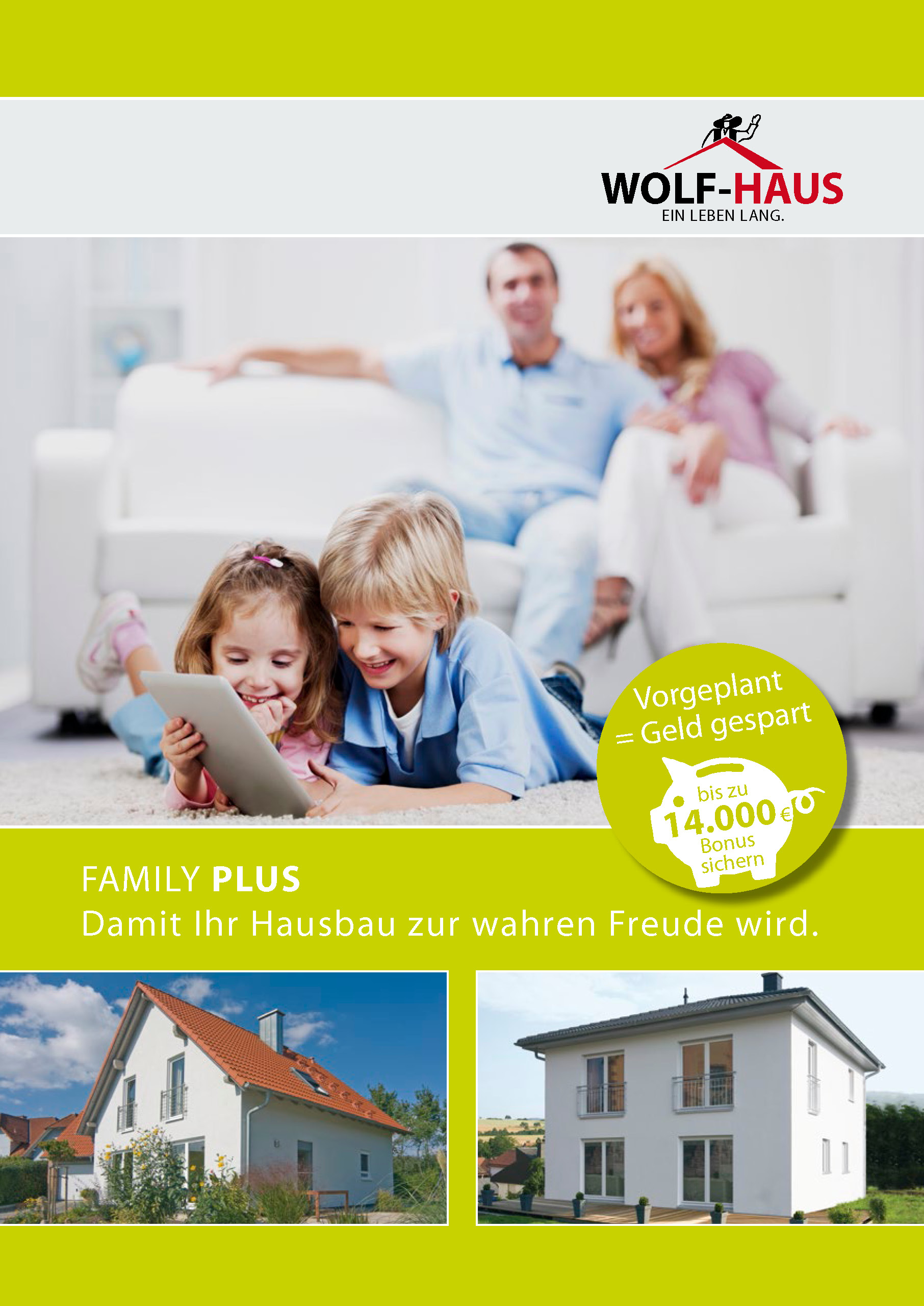 WOLF-Haus Aktionshaus Family-Plus